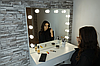 Рабочее место с подсветкой и лампами в зеркале на 1 шухляду М612, фото 4