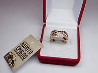 Золотое женское кольцо. Размер 19