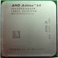 Процессор AMD Athlon 64 3000+ (1×2.0GHz/512Kb/AM2) БУ