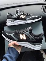 Кроссовки мужские New Balance X90 Black Grey. ТОП КАЧЕСТВО!!!  Реплика, фото 1