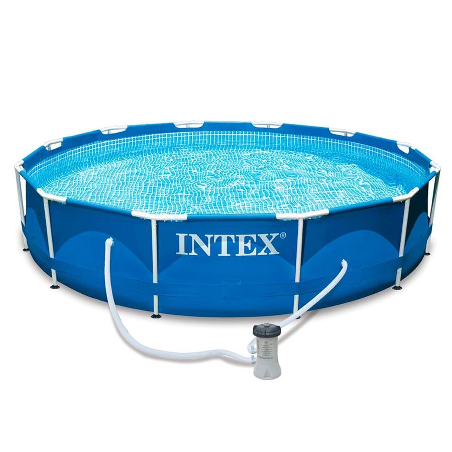 Бассейн каркасный 366х76 см Intex 28212 (56996) с фильтр-насосом