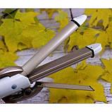 Стайлер для волос 4 в 1 Gemei GM-2962, Керамический утюжок плойка для волос Gemei GM 2962, фото 5