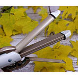 Стайлер для волосся 4 в 1 Gemei GM-2962, Керамічний плойка для завивки волосся Gemei GM 2962, фото 5
