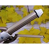 Стайлер для волос 4 в 1 Gemei GM-2962, Керамический утюжок плойка для волос Gemei GM 2962, фото 7
