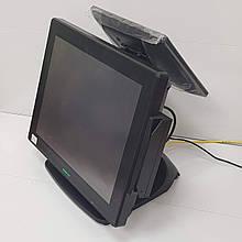 Сенсорный POS терминал с двумя экранами Posiflex XT-3015 БУ