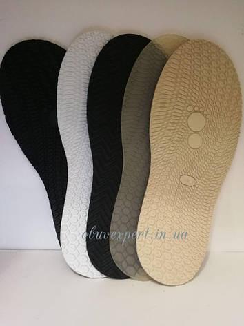 Слід підошви взуття BISSOLL, п/у, кол. чорний, фото 2