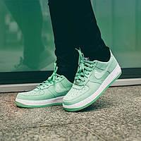 "Кроссовки Nike Wmns Air Force 1 07 Seasonal ""Green/Enamel/Green"", фото 1"