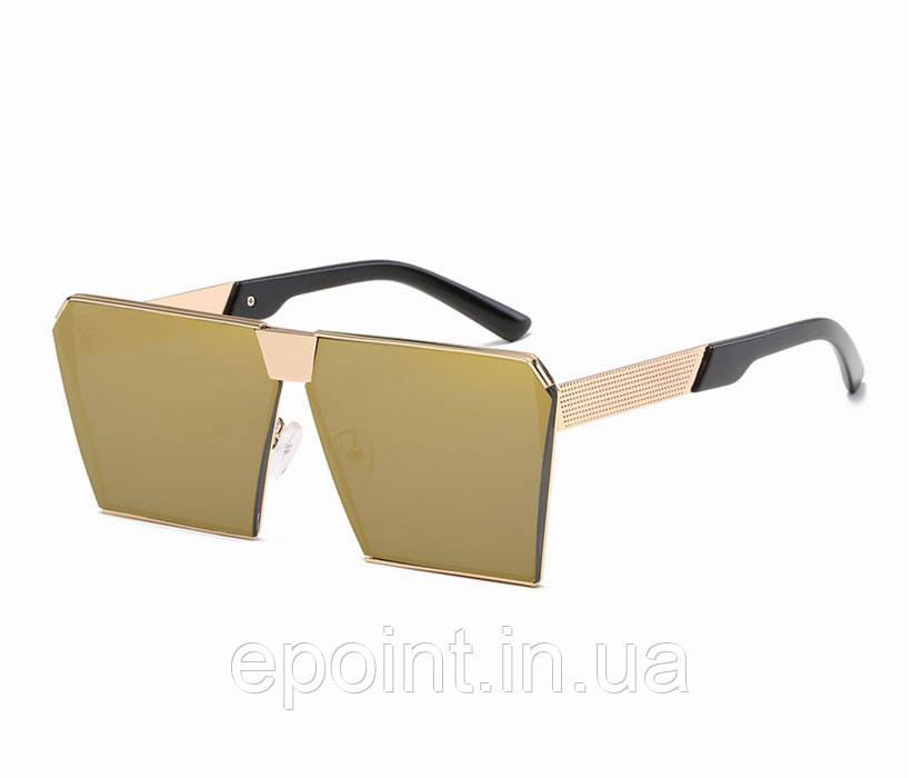 Модные солнцезащитные очки прямоугольной формы, линзы