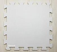 Пазлы теплый пол (цвет белый)