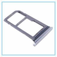 Лоток (держатель) сим карты для Samsung G935F Galaxy S7 Edge (на 1 Sim) (Silver) Original