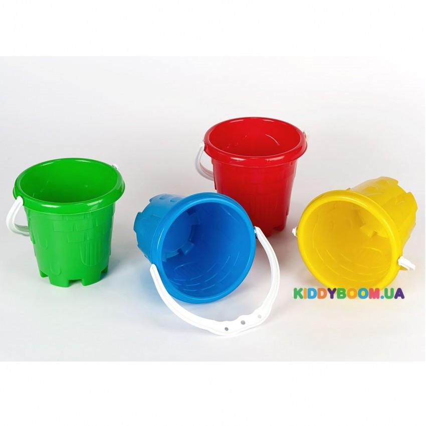 Ведёрко маленькое «Замок» (в ассортименте) Toys Plast ИП.20.005