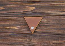 Монетница кожаная ручной работы VOILE vl-cn1-lbrn, фото 2
