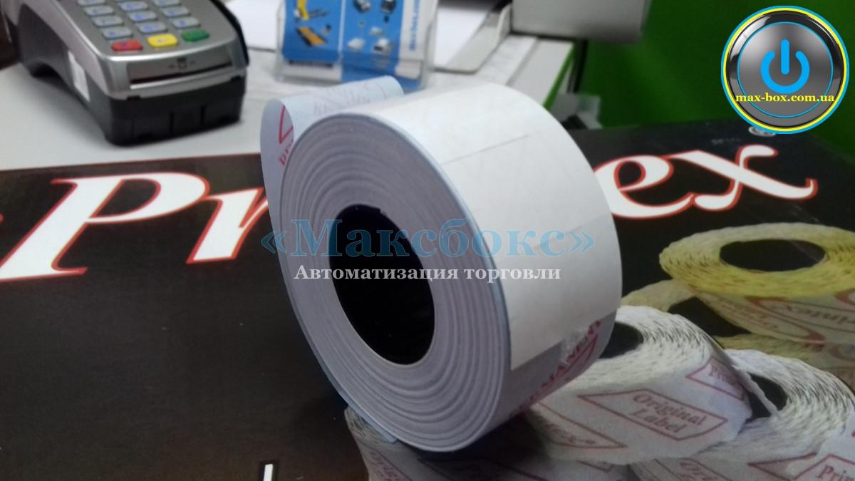 Етикет - стрічка 21 x 12 мм біла Printex