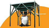 Универсальная фасовочно-упаковочная линия (оборудование) для сыпучих в биг беги  и мешки