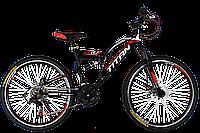 """Titan Panther 26"""" Black-Red-White"""