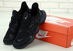 Мужские кроссовки Nike Air Free Run 2019 Black. ТОП Реплика ААА класса.