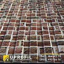 Профнастил фотопринт Кирпичная Стена, толщина 0.42 мм., фото 2