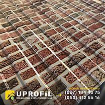 Профнастил фотопринт Кирпичная Стена, толщина 0.42 мм., фото 3