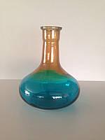 Колба для кальяна HookahTree голубая/ оранжевая, фото 1