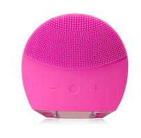 Электрическая щетка для лица FOREVER Lina Mini 2 с индивидуальной настройкой очистки Розовый