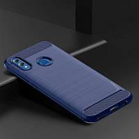 TPU чехол iPaky Slim Series для Samsung Galaxy M20 (Синий)
