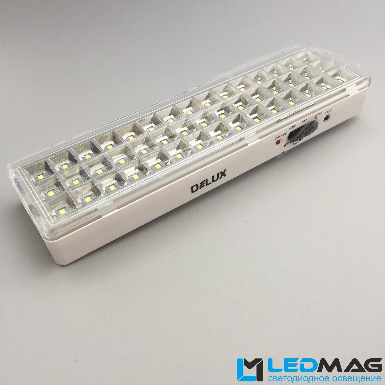 Аварийный светодиодный светильник Delux 3Вт