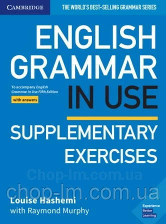 English Grammar in Use Fifth Edition Supplementary Exercises with answers / Книга с упражнениями и ответами