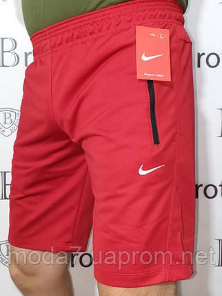 Шорты мужские красные красные Nike реплика, фото 2