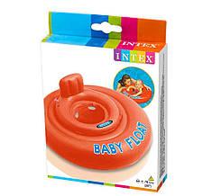 Круг-плотик 56588 EU, оранжевый «Intex» (28007)