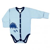 Боди для новорожденных Верес Dinosaur интерлок 56 см синий