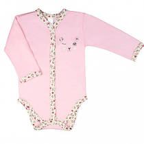 Боди для новорожденных Верес My Cuties интерлок 56 см розовый