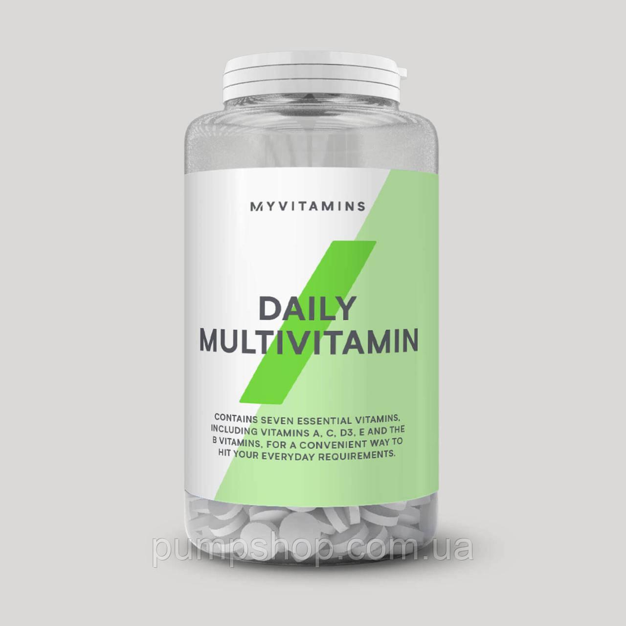 Мультивітаміни Myprotein Daily Multivitamins 60 таб.