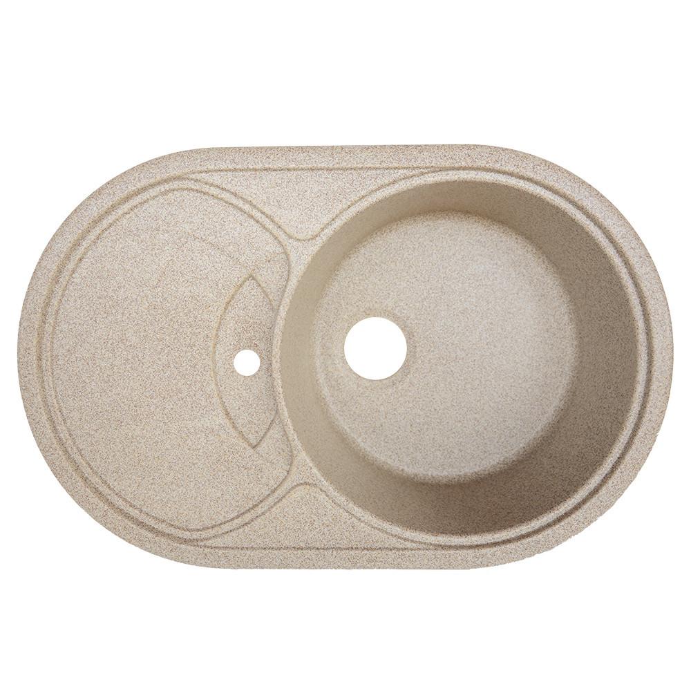 Мойка гранитная Platinum 7750 карамель (брак№917)