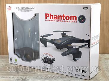 Phantom D5HW Tomito drone складной квадрокоптер дрон D5H с WiFi и камерой