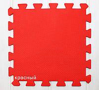 Пазлы теплый пол (цвет красный)