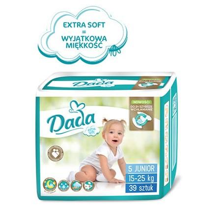 Подгузники Dada Extra soft 5 (39 шт) от 15 до 25 кг