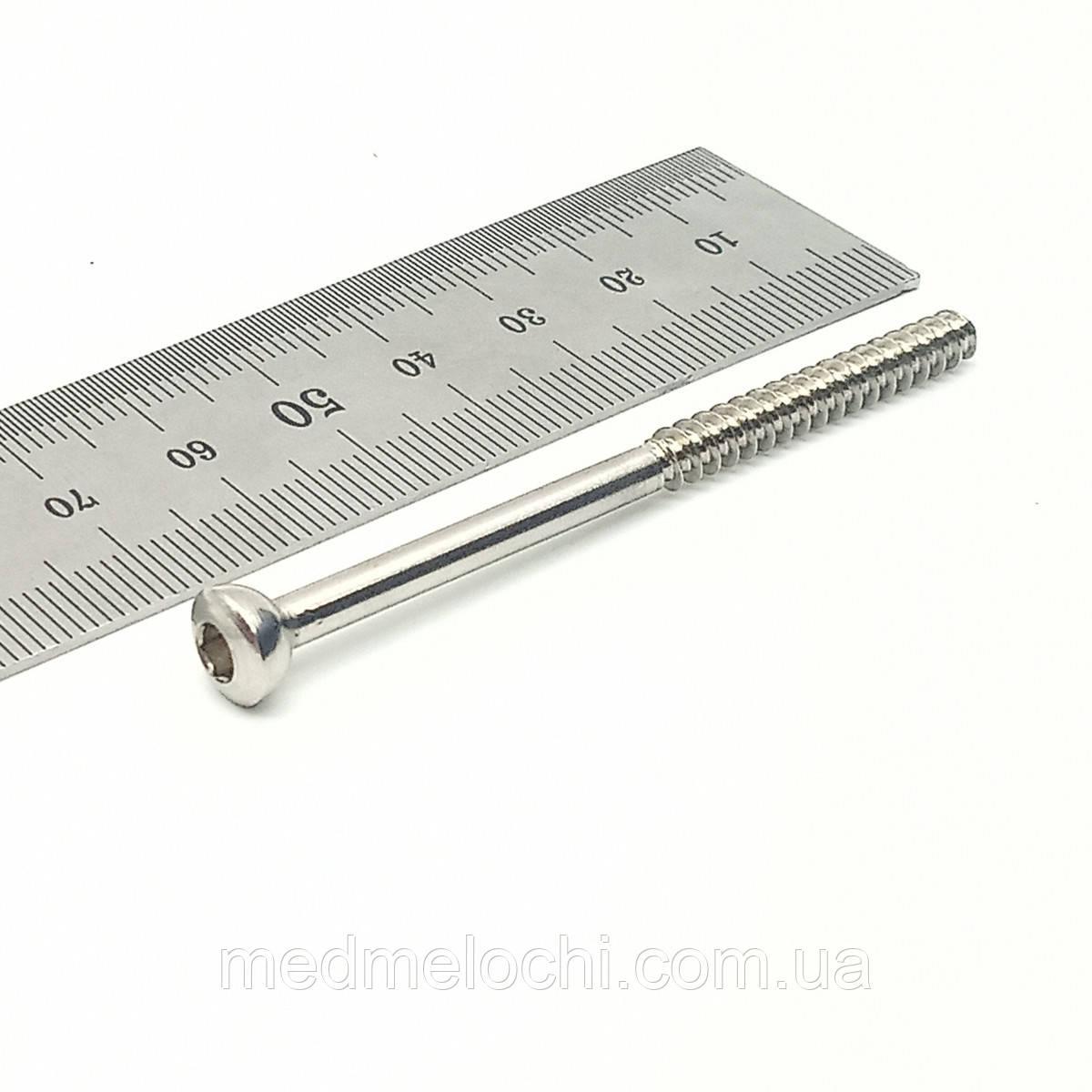 Гвинт малеолярний D=4,5мм, 80мм
