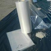Полотно полиэтиленовое вторичное 1 сорт СВЕТЛОЕ (400 - 600 мм)