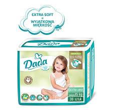 Подгузники Dada Extra Soft 6 (38 шт) свыше 16 кг