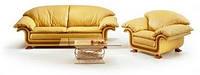 Ремонт кожаной мебели, перетяжка, обивка Запорожье