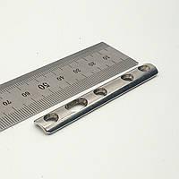 Пластина трубчаста 1/3 2 мм (сталь) L = 70мм, 5 отв,