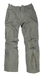 Штани чоловічі Авіатор FLIEGERHOSE матеріал - Popline колір олива MiL-Tec Німеччина