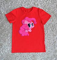 """Детская стильная  хлопковая футболка для девочек """"My little pony"""""""