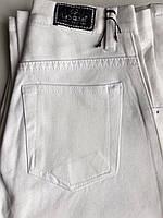 Женские брюки Белые высокая посадка классический крой