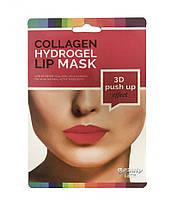 Коллагеновая маска для губ с мгновенным эффектом (регенерация,объем, наполнение), 1 шт.