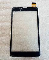 Сенсорное стекло (тачскрин) Assistant AP-753G AP-755G AP-757G черное