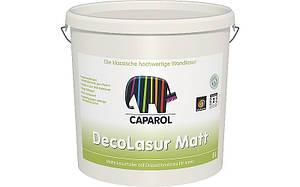 DecoLasur Matt матовая лессирующая краска на дисперсионной основе для внутренних работ.