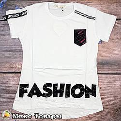 Подростковая футболка Размеры: 9,10,11,12 лет (8576-3)