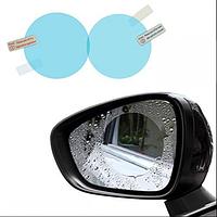 Защитная пленка Антидождь на боковые зеркала авто 95*95mm (2шт)