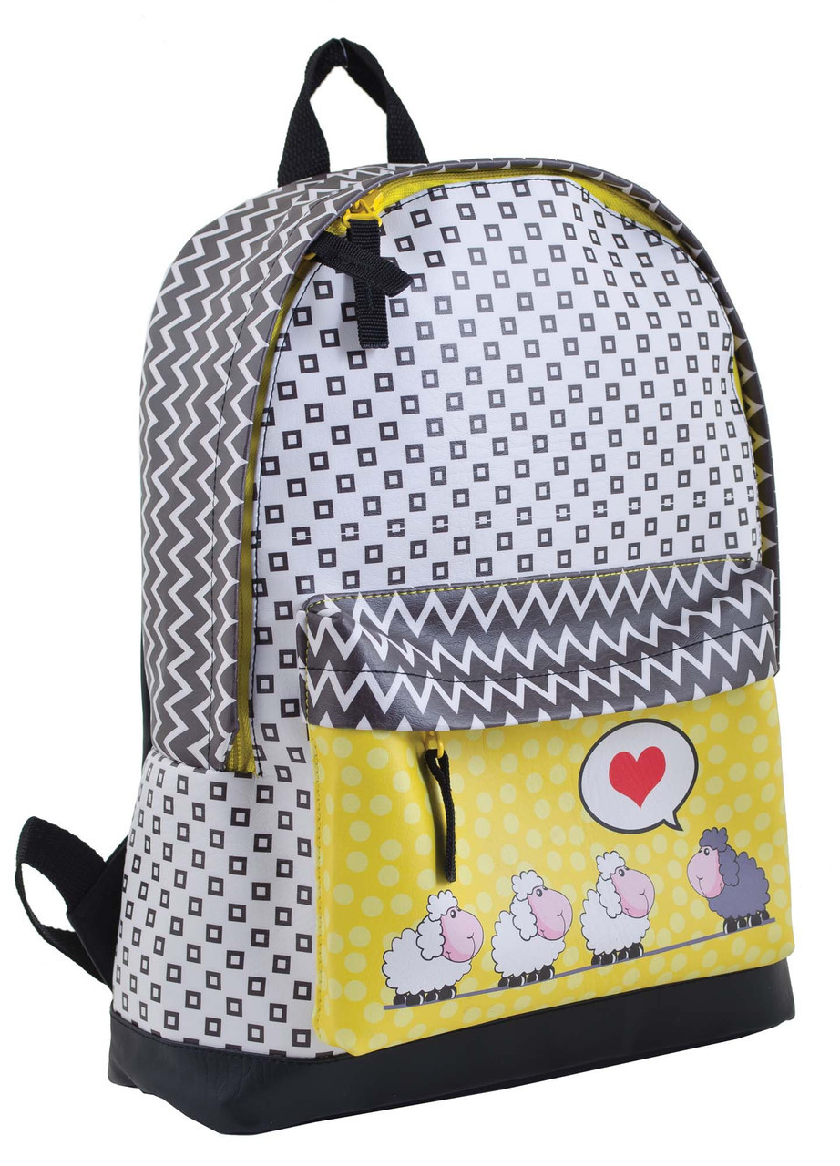 Рюкзак YES 553544 ST-15 Love sheeps